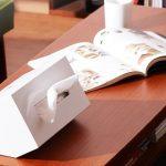 テッシュケースおしゃれでインテリアにもなるゴミ箱付きの便利品