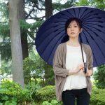 日傘と雨傘とソーシャルディスタンスの3役になる!これからは外出時には傘が便利