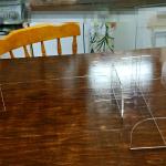 テーブルパーテーションの使い心地は?お買い得な簡単組立仕切りのお薦め